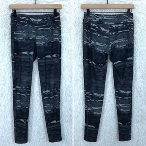 Gray Camo Tights Mid Rise Leggings The North Face